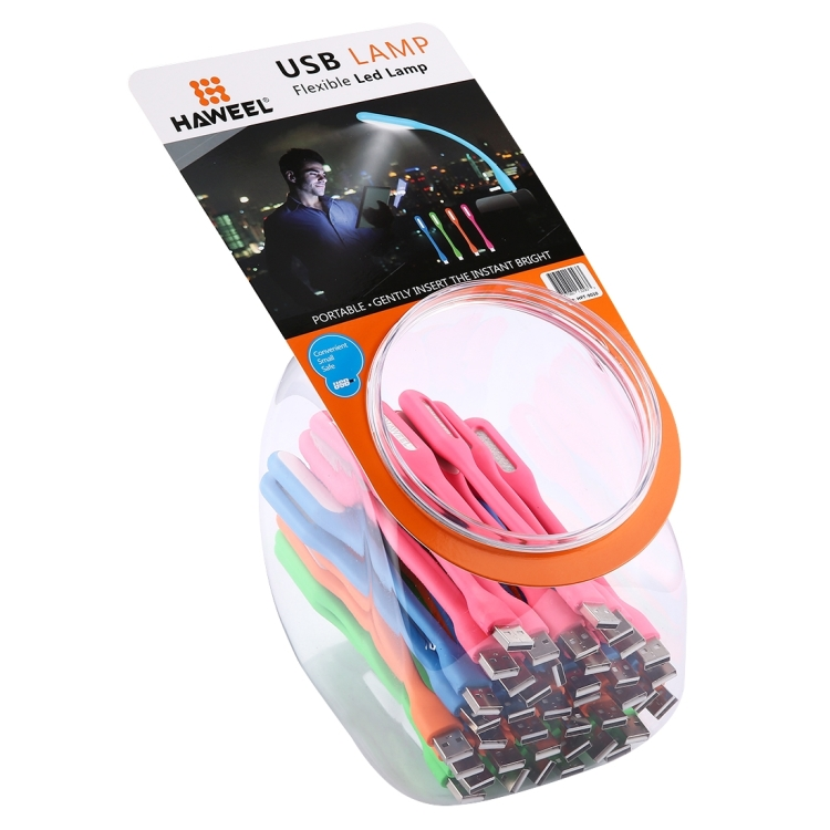 40 PCS Mixed Colors HAWEEL Mini Portable USB LED Light Kit