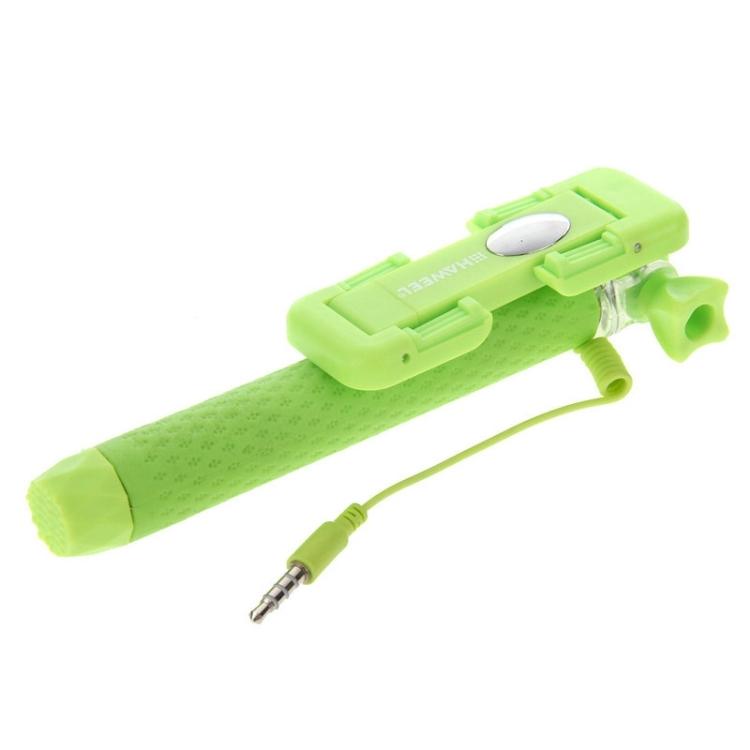 HAWEEL Mini Multifunction Wire Controlled Extendable Selfie Stick Monopod