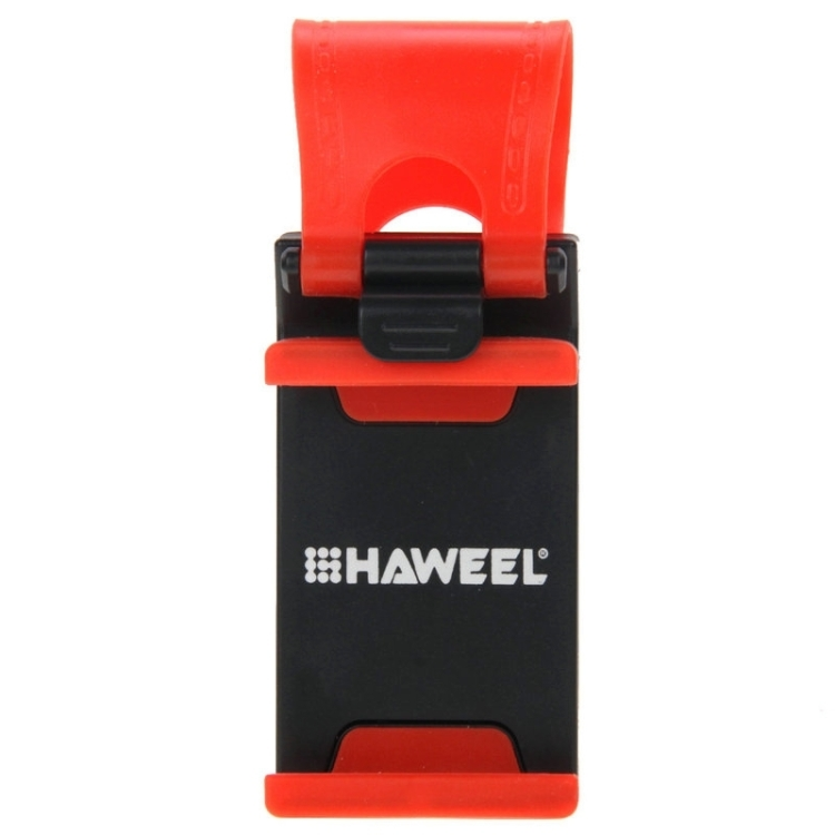 [US Stock] HAWEEL Universal Car Steering Wheel Phone Mount Holder