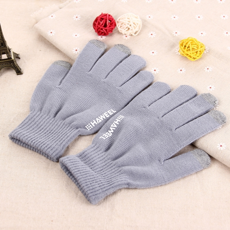 HAWEEL Three Fingers Touch Screen Gloves for Men
