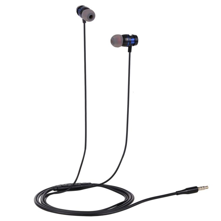 HAWEEL 3.5mm Jack Metal Head In-ear Pure Voice Earphones with Mic & Line Control