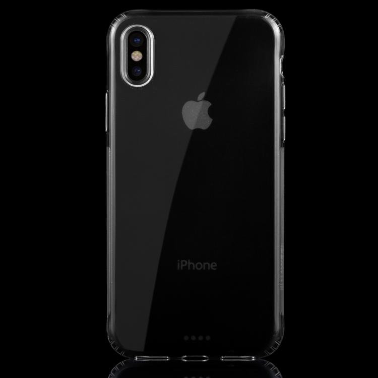 HAWEEL for iPhone X Soft Transparent TPU Protective Case(Transparent)