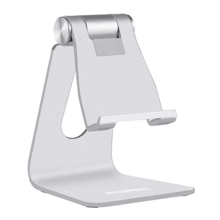 HAWEEL Adjustable Aluminum Pivot Desktop Phone Holder