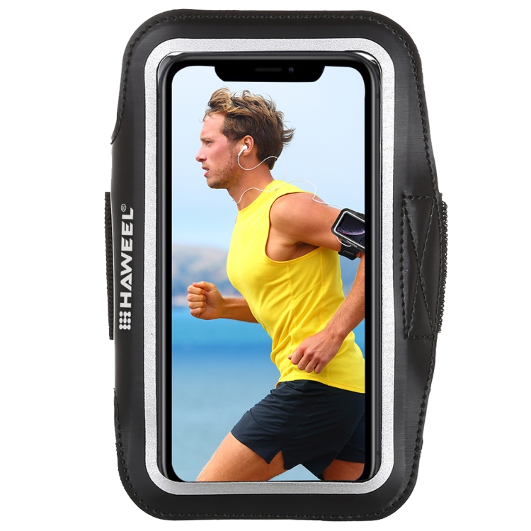 HAWEEL Sport Armband Case with Earphone Hole & Key Pocket