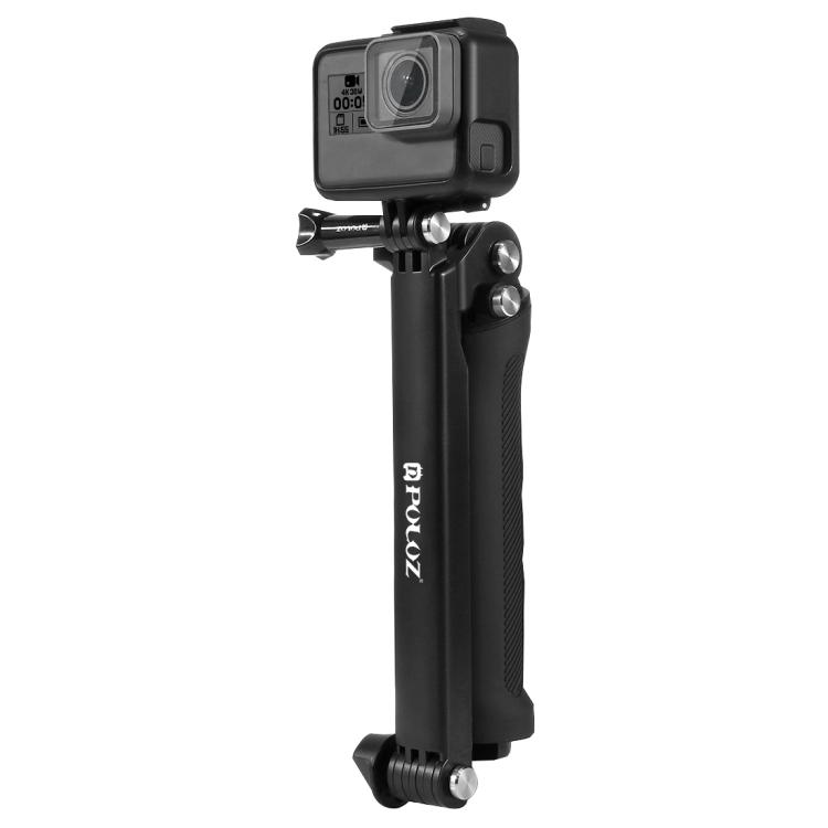 For Gopro Hero Accessories Puluz 3 Way Grip Arm Tripod Mount Selfie Stick SG
