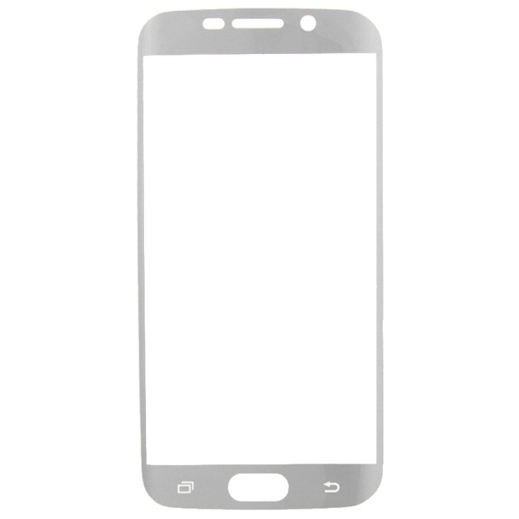 Ultrathin Curved Electroplating TPU Screen Protector for Galaxy S6 Edge+ / G928(Grey)
