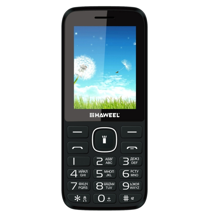 Haweel X1 Mobile Phone, Russian Keyboard